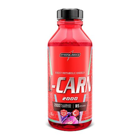 L-carn 480ml Integralmedica - Carnitina Líquida - Original