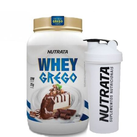 Whey Protein 900g Grego (Blend Proteico) - NUTRATA