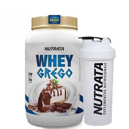 Whey Protein 900g Grego (Blend Proteico) - NUTRATA