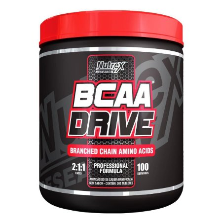 Bcaa Drive 200 Tablets - Nutrex