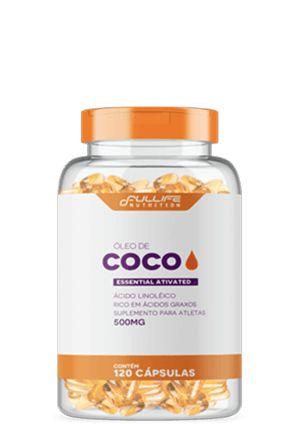 Óleo de COCO 120 cápsulas - Full Life