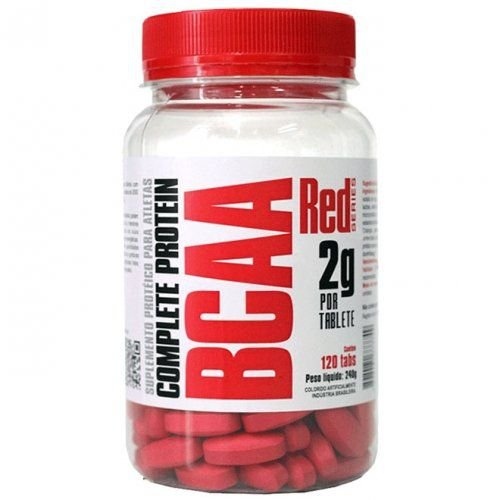 Bcaa 2g por tablete 120 Tabs - Red Series