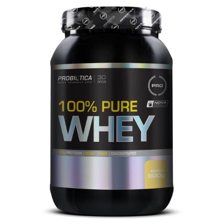 100% PURE WHEY CHOCOLATE 900GR PROBIÓTICA