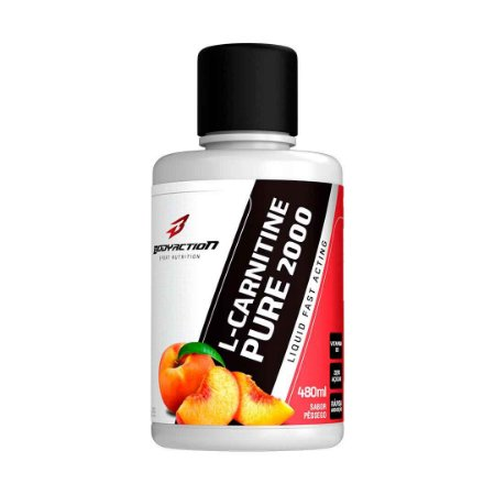 L CARNITINE PURE 2000 480ML PESSEGO