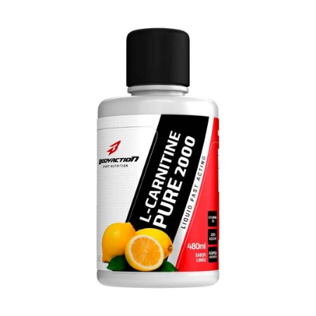 L CARNITINE PURE 2000 480ML LIMÃO