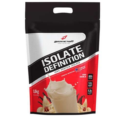ISOLATE DEFINITION 1,8KG WHEY ISOLADO - baunilha