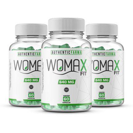 Womax emagre kit com 3 potes 60 cápsulas