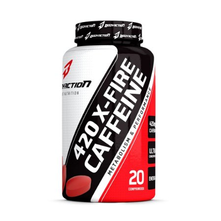 X-Fire 420 Caffeine - 20 Comprimidos - Body Action