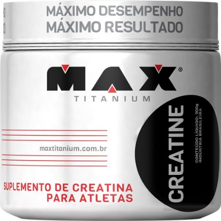 Creatina Titanium - 300g - Max Titanium