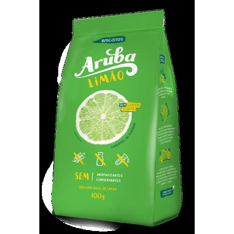 Aruba - Biscoito Amanteigado Sabor Limão 100g