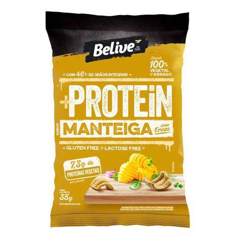 Belive - Snack Protein Sabor Manteiga com Ervas Finas 35g