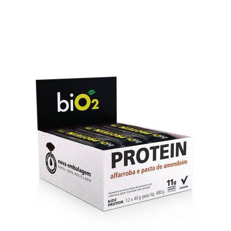Bio2 - Bio Protein Sabor Alfarroba + Amendoim  45g