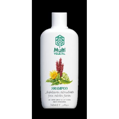 Shampoo Fortalecedor Estimulante para cabelos fracos 240ml MULTI VEGETAL