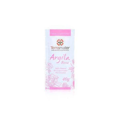 Argila Rosa (Elasticidade) 40g TERRAMATER
