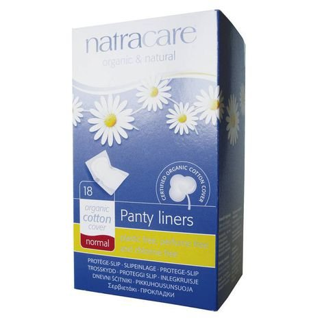 Absorvente externo diário Normal (panty liners) 18 unidades NATRACARE