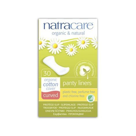 Absorvente externo diário Curvado (panty liners) 30 unidades NATRACARE