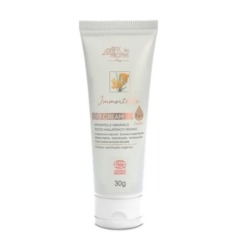 BB Cream claro Immortelle 30g ARTE DOS AROMAS
