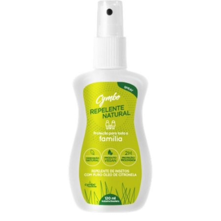 Repelente Natural Família (spray) 120ml CYMBO