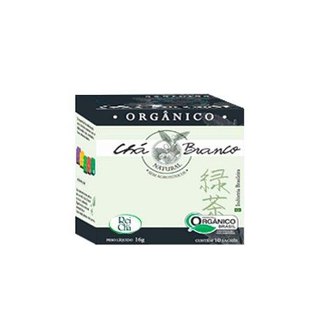 Chá Branco 10 Sachês - 16gr - Campo Verde