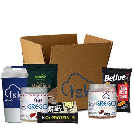 Seek your FOOD Box - Receba Mensalmente