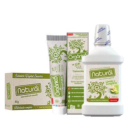 Combo Higiene Bucal - Organico Natural