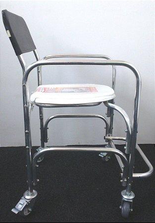 Cadeira Higiênica em Alumínio Ortorio