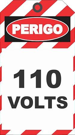 CARTÃO DE TRAVAMENTO - 10X18 CM