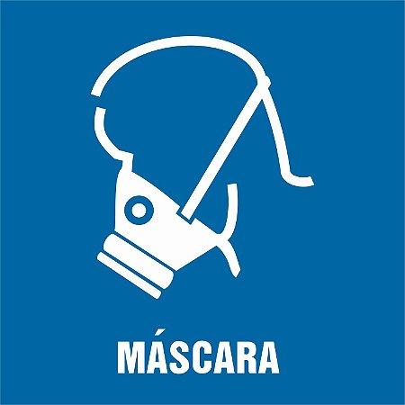 PLAQUETAS PARA PLACAR CIPA - USO DE MÁSCARA