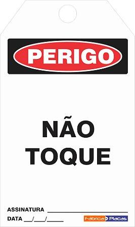 CARTÃO DE TRAVAMENTO -NÃO TOQUE
