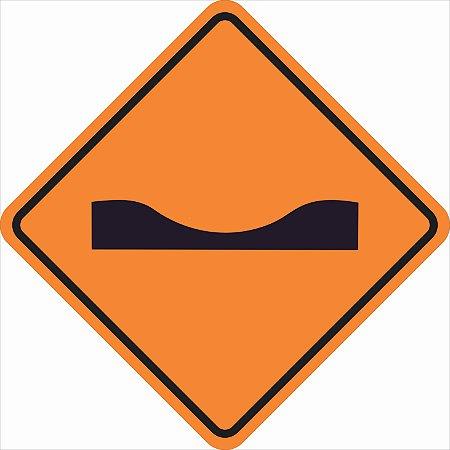 Placas sinalização de Obras 100x100cm - OEP 101