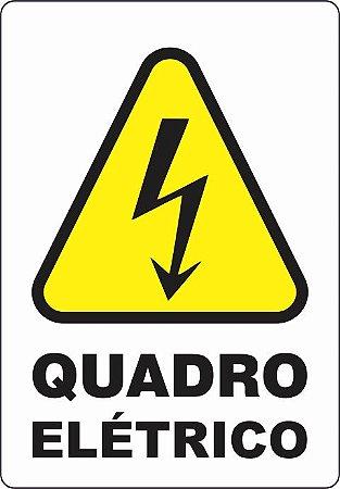 Etiquetas Risco de Perigo auto-colante - Quadro Elétrico