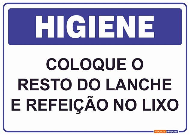 Placa Higiene PLH-002