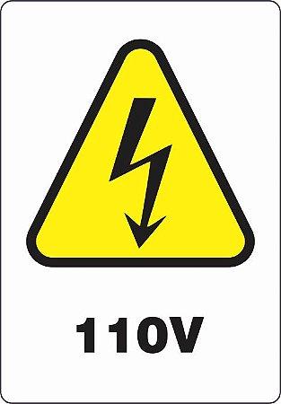 Etiquetas Risco de Perigo.