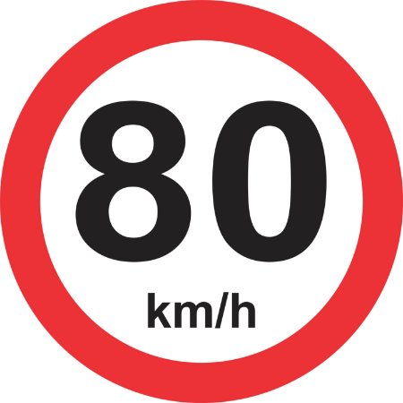 Placa de Regulamentação - R-19 - Velocidade Máxima Permitida
