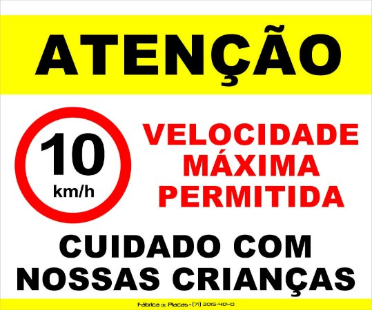 Placa Aviso para áreas Comuns e Portaria