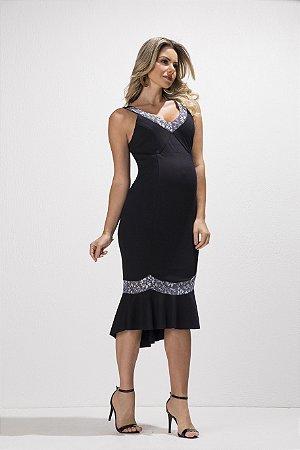 dcdf0a7cc Vestido Midi Megadose | Mãe na Moda - Mãe na Moda - Moda Gestante ...