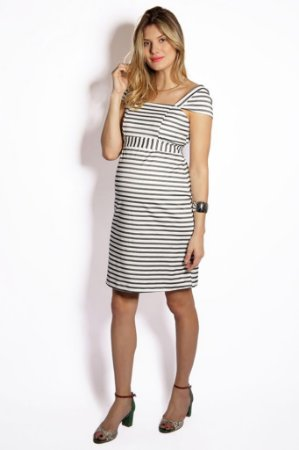 Vestido Curto Gestante Mood Fashion Maternity