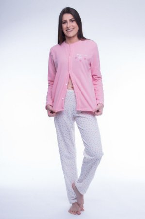 Pijama Amamentação Inverno Fofinho