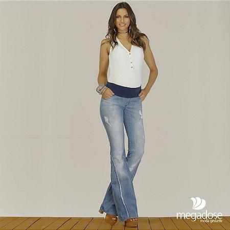 Calça Jeans Flare Dark Megadose