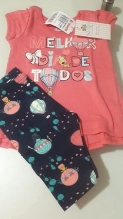 efda20f207 Conjunto Brandili - Feminino - Top Kids Roupas Infantis