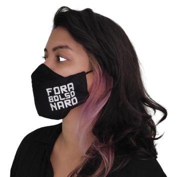 Máscara 3D Fora Bolsonaro