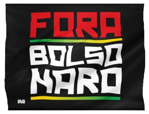 Bandeira Fora Bolsonaro (95cm x 70cm)