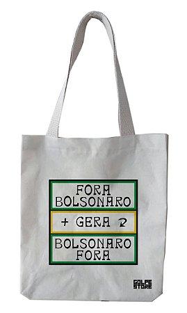 Ecobag Gentileza Fora Bolsonaro