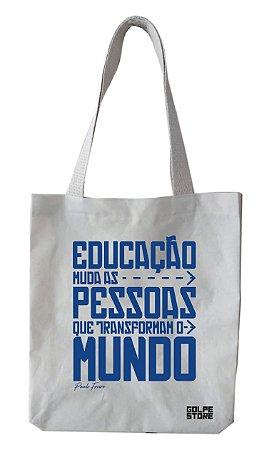 Ecobag Paulo Freire