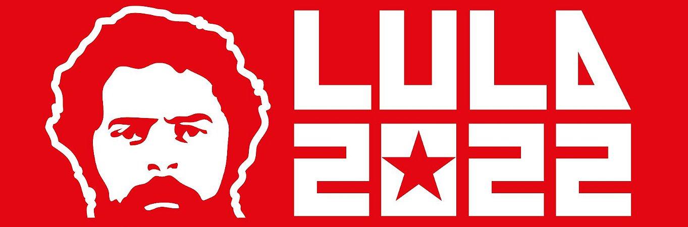 Adesivo de carro Lula 2022