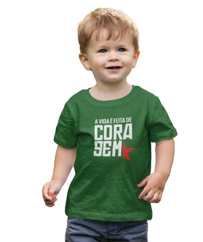 Camisa Infantil Coragem Revolution