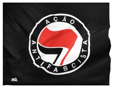Bandeira Antifascismo (95cm x 70cm)
