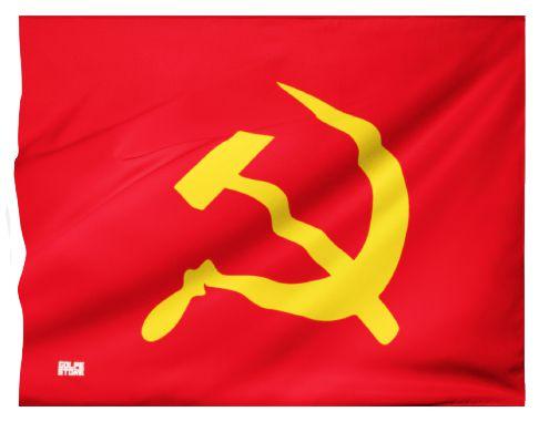 Bandeira Comunista (95cm x 70cm)