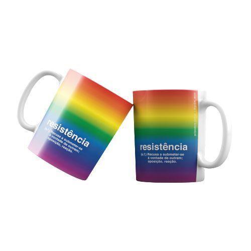 Caneca Resistência LGBT - Promoção