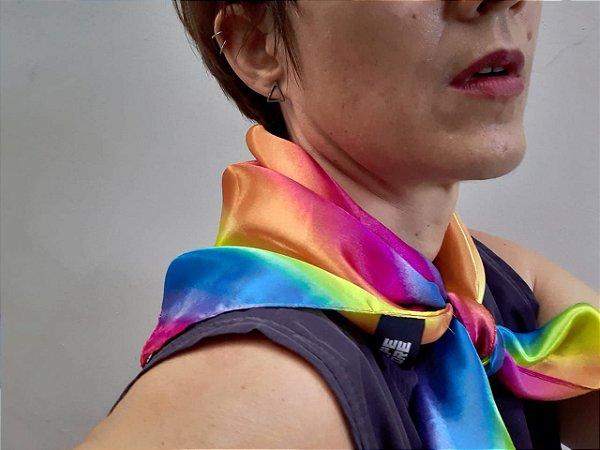Lenço Arco-Íris LGBT multicor